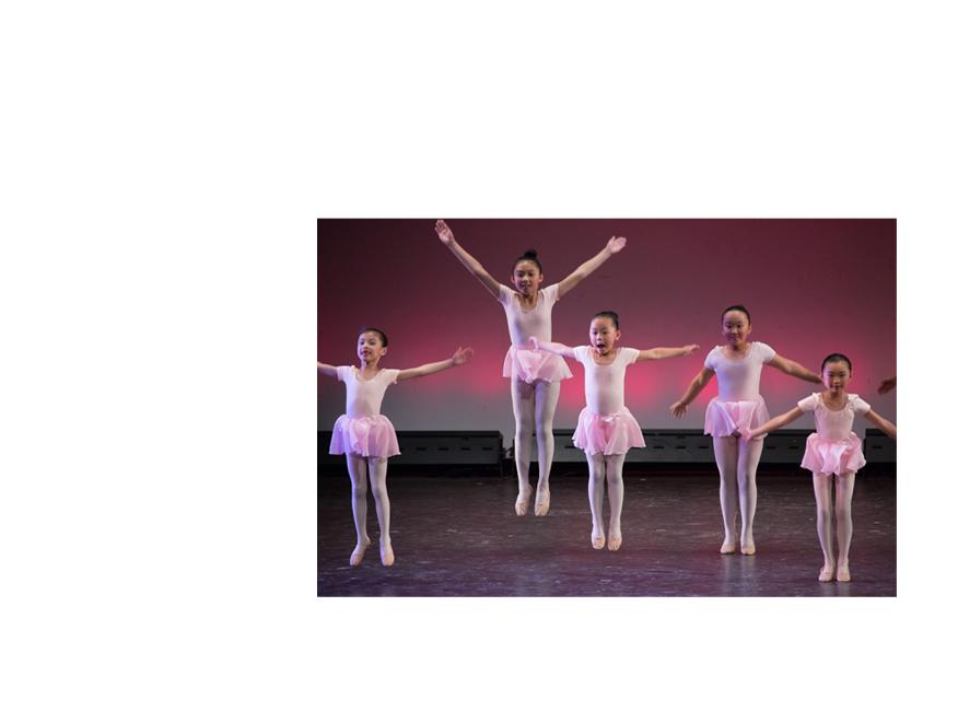 Angela Van Ballet - Leaping Ballerinas